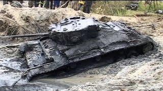 Polónia: Descoberto tanque que data da II Guerra Mundial