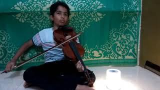 Tum aa gaye ho noor aa gaya hai (violin cover)
