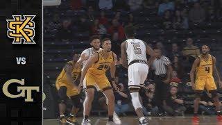 Kennesaw State vs. Georgia Tech Basketball Highlights (2018-19)
