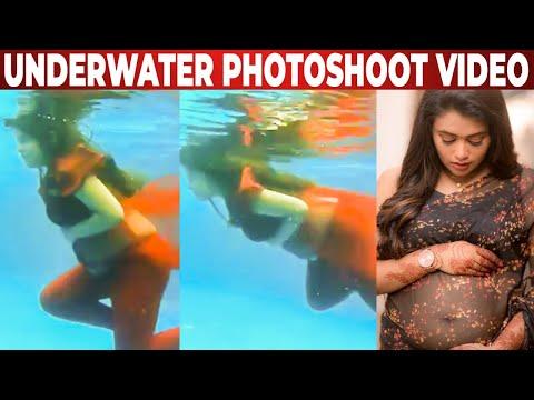 TRENDING VIDEO: Farina's Under Water Photoshoot | Bharathi Kannamma | Venba Photoshoot | Vijay TV