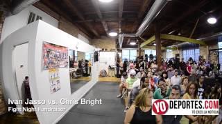 Ivan Jasso vs Chris Bright Body Shot Boxing Club Fight Night Fundraiser