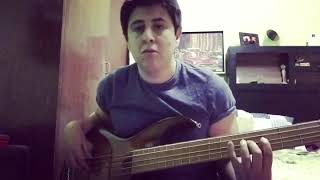 Jaco Pastorius - The Chicken Bass cover(groove and Melody)