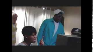 """Charlie Wilson and Fantasia Making """"I Wanna Be Your Man"""" in the Studio"""