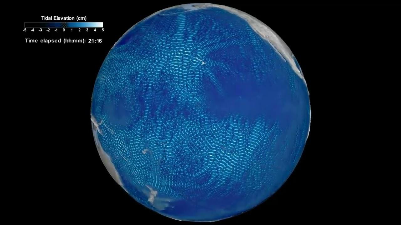 NASA Sees Tides Under Ocean's Surface