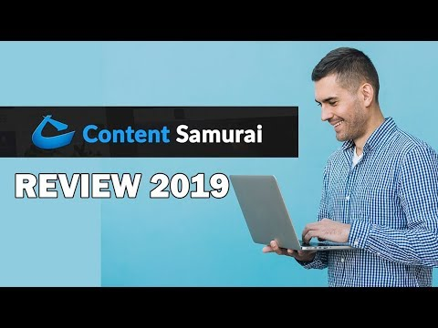 Content Samurai Review 2019 | How To Make Money With Content Samurai