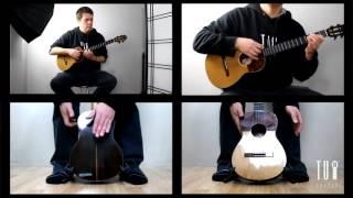 Waves - Adrian Toro. Instrumental Cuatro Cover Mr Probz.