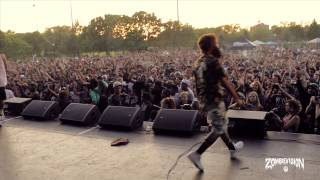 ZOMBiEVision Episode 1: Flatbush Zombies Headline NYC Summerstage 2013