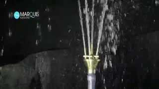 Lotus Brass Spray Water Feature