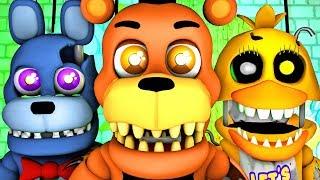 Five Nights at Freddy's Song (FNAF 4 World SFM 4K Nightmare)(Ocular Remix)