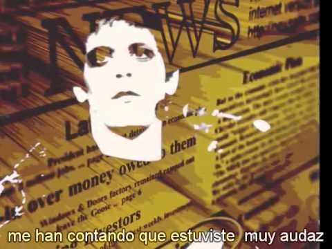 Satellite Of Love En Espanol de Lou Reed Letra y Video