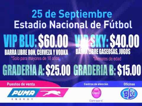 Comercial LMFAO Blu Nicaragua.