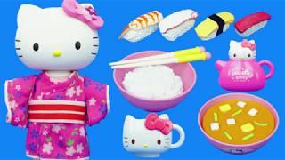 HelloKitty凱蒂貓的厨房煮飯過家家玩具