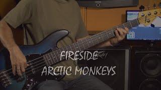 Arctic Monkeys - Fireside - bass cover + Notes