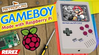 GPi (Game Boy + RetroPie) - Rerez