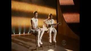 As long as you love me Acoustic live Justin Bieber Victoria's Secret Fashion Show 2012
