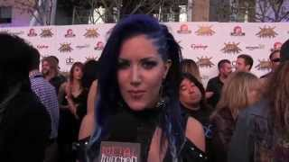 Arch Enemy at REVOLVER GOLDEN GODS 2014 | Metal Injection