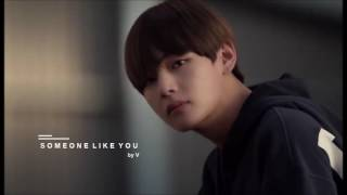 [3D AUDIO] BTS V 'Someone Like You' cover