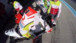 LIVE FROM JEREZ TEST - Petrux's first run testing Ducati Desmosedici GP