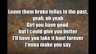Trey Songz - Nana LYRICS on the screen
