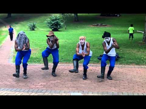 Gumboot Dancing In Durban, South Africa