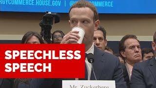 Speechless Speech / MARK ZUCKERBERG
