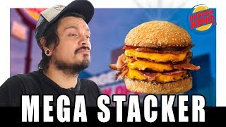FAÇA O MEGA STACKER DO BURGER KING EM CASA - XEPA!