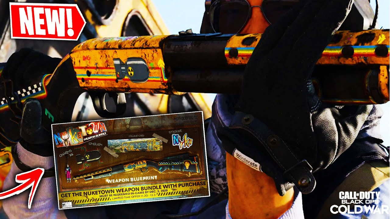 TheGibblesTribute - the FREE NUKETOWN WEAPONS BUNDLE in BLACK OPS COLD WAR! (COLD WAR NUKETOWN '84)
