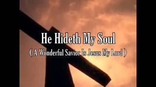 He Hideth My Soul Clyde McLennon, instrumental - ML - roncobb1