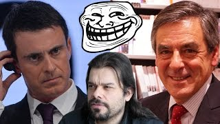 Valls et Fillon, Candidats Trolls (Terrene Trash 62)