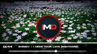 Shaggy - I Need Your Love (Nightcore)