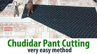Chudidar Pant cutting easy method churidar pant cutting Salwar Pants width=
