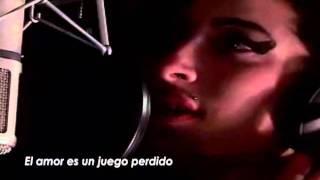 Amy Winehouse - Love is a Losing Game (Subtitulos al español)