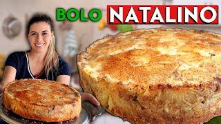 BOLO NATALINO DELICIOSO E MOLHADINHO