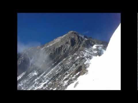 Mt.Everest climbing view of Camp 3(7300m) 【エベレスト登山】キャンプ3からの眺め
