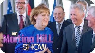 Angela Merkel betritt Neuland | Die Martina Hill Show | SAT.1 TV