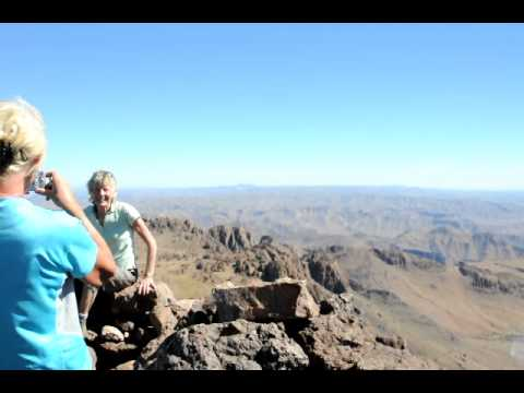 360 Degree View at the top of Jebel Aklim