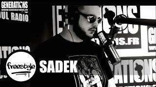 Sadek - Freestyle #MisterV (Live des studios de Generations)