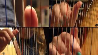 Survivor - Eye Of The Tiger (Harp Cover) + SHEET MUSIC