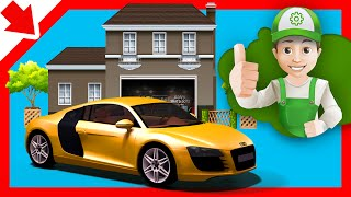 Cartoon about cars.  Best cars - Little Smart Kids