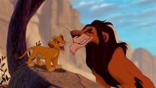 Scar e Simba nella gola - Il Re Leone - Clip HD