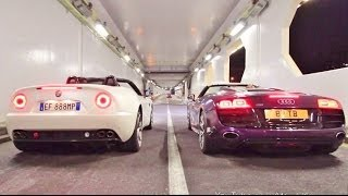 Audi R8 V10 vs Alfa Romeo 8C Rev War