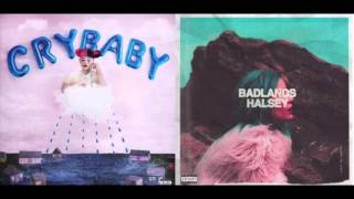 Melanie Martinez & Halsey - Cry Baby vs. New Americana (mashup)