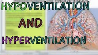 Hypoventilation vs Hyperventilation