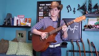 Old Town Road - Lil Nas- Cover (Fingerstyle Guitar) Andrew Foy