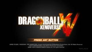 DragonBall Xenoverse - Main menu theme music [HQ/HD]