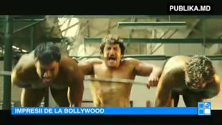 Nu te vei abţine de râs! Vezi scenele unui film cu bodybuilderi, creat la Bollywood