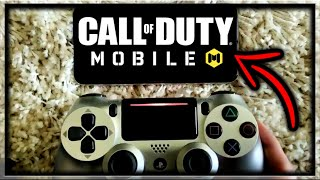 How To Play Call of Duty Mobile With A PS4 / Xbox One Controller (Play COD Mobile With Controller)