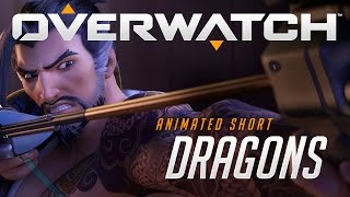 "Overwatch Animated Short | ""Dragons"" width="