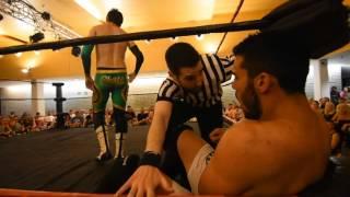 Spanish Pro Wrestling: Adam Chase vs Adriano Genovese