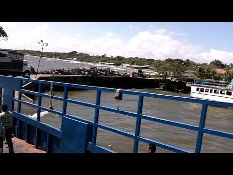 11.02.2011 – boot naar Ometepe, Nicaragua
